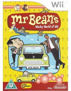 MR BEAN'S WACKY WORLD OF Wii for Nintendo Wii