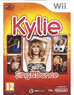 KYLIE SING AND DANCE voor Nintendo Wii
