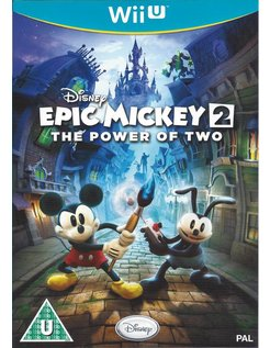 EPIC MICKEY 2 THE POWER OF TWO for Nintendo Wii U