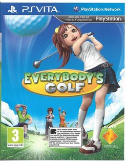 EVERYBODY'S GOLF for PS VITA