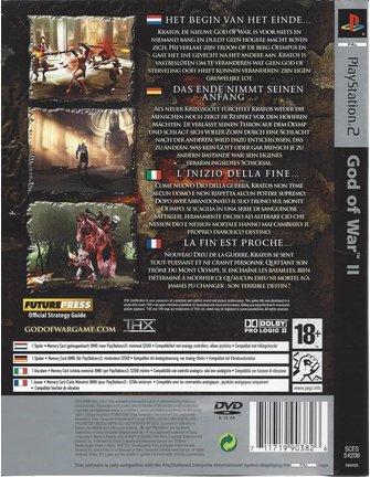 GOD OF WAR II (2) voor Playstation 2 PS2 - Platinum