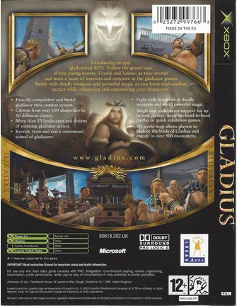 GLADIUS für Xbox