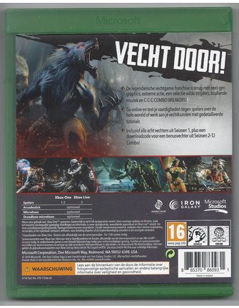 KILLER INSTINCT voor Xbox One
