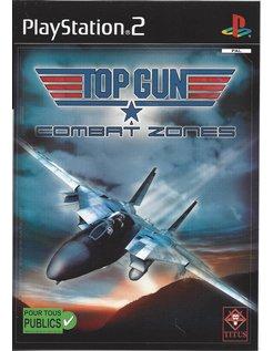TOP GUN COMBAT ZONES voor Playstation 2 PS2
