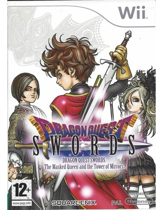 DRAGON QUEST SWORDS - THE MASKED QUEEN AND THE TOWER OF MIRRORS voor Nintendo Wii