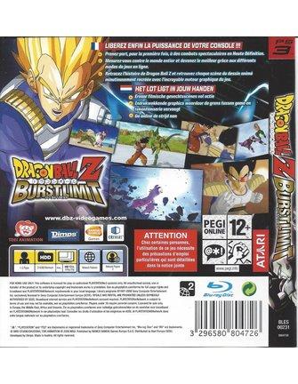 DRAGON BALL Z BURST LIMIT voor Playstation 3 PS3