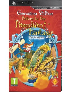 GERONIMO STILTON RETURN TO THE KINGDOM OF FANTASY für PSP
