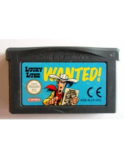 LUCKY LUKE WANTED voor Game Boy Advance GBA