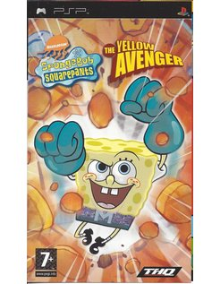 SPONGEBOB SQUAREPANTS THE YELLOW AVENGER voor PSP