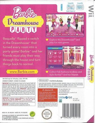BARBIE DREAMHOUSE PARTY voor Nintendo Wii