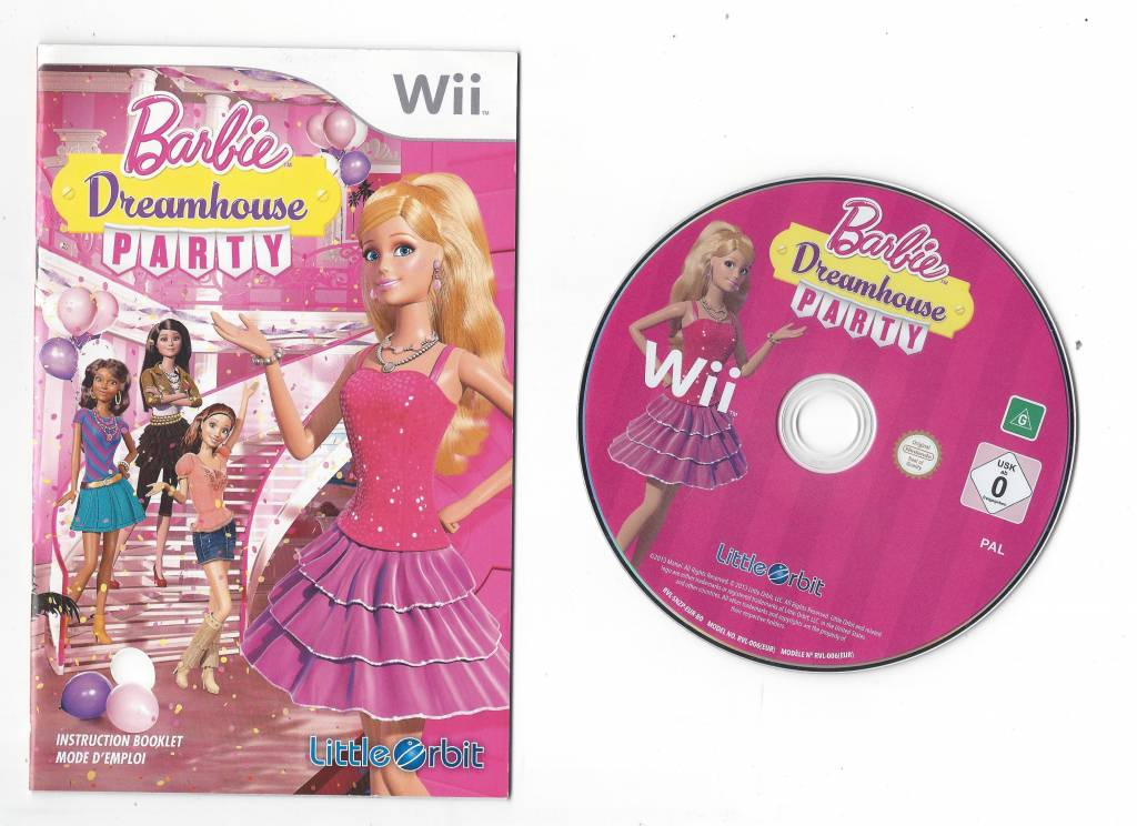Barbie Dreamhouse Party Fur Nintendo Wii Passion For Games Webshop