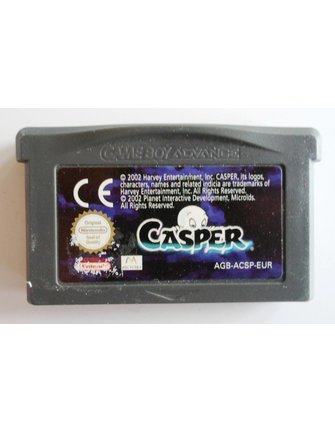 CASPER for Nintendo Game Boy Advance GBA