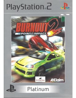 BURNOUT 2 POINT OF IMPACT voor Playstation 2 PS2