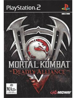 MORTAL KOMBAT DEADLY ALLIANCE voor Playstation 2 PS2