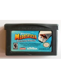 MADAGASCAR OPERATION PINGUIN für Game Boy Advance GBA