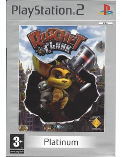 RATCHET AND CLANK voor Playstation 2 PS2