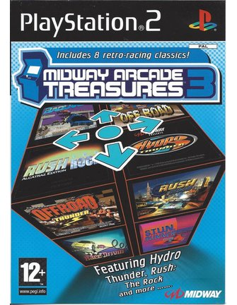 MIDWAY ARCADE TREASURES 3 for Playstation 2 PS2
