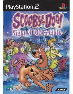 SCOOBY-DOO NIGHT OF 100 FRIGHTS for Playstation 2 PS2