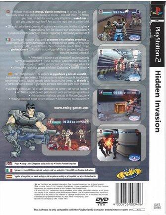 HIDDEN INVASION voor Playstation 2 PS2