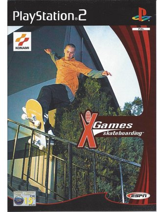 ESPN X GAMES SKATEBOARDING voor Playstation 2 PS2