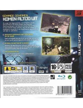 BLACKSITE voor Playstation 3 PS3