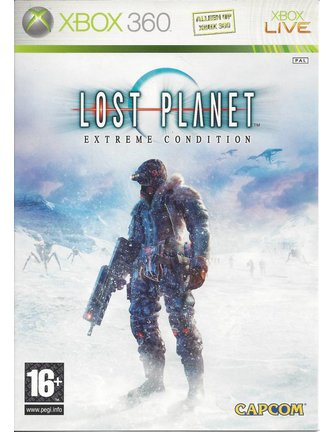 LOST PLANET EXTREME CONDITION voor Xbox 360