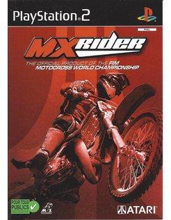 MX RIDER MXRIDER für Playstation 2 PS2