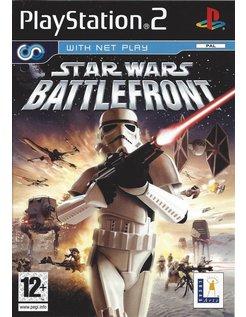 STAR WARS BATTLEFRONT voor Playstation 2 PS2