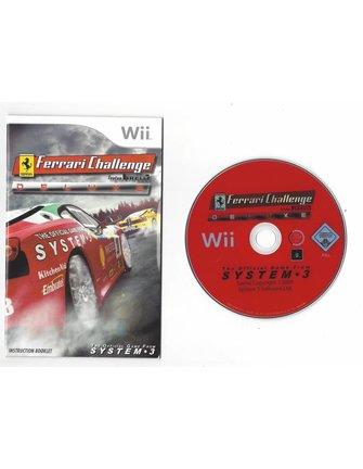 FERRARI CHALLENGE DELUXE voor Nintendo Wii