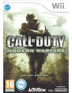 CALL OF DUTY MODERN WARFARE - REFLEX EDITION voor Nintendo Wii