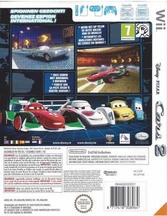 DISNEY PIXAR CARS 2 voor Nintendo Wii