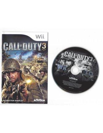 CALL OF DUTY 3 voor Nintendo Wii