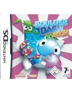 BOULDER DASH ROCKS voor Nintendo DS
