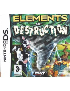 ELEMENTS OF DESTRUCTION für Nintendo DS