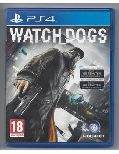 WATCH DOGS voor Playstation 4 PS4