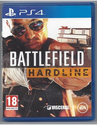 BATTLEFIELD HARDLINE für Playstation 4 PS4