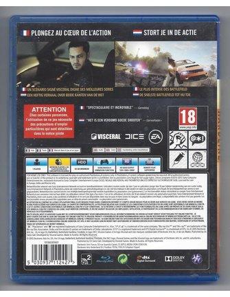 BATTLEFIELD HARDLINE voor Playstation 4 PS4