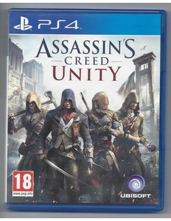 ASSASSIN'S CREED UNITY voor Playstation 4 PS4
