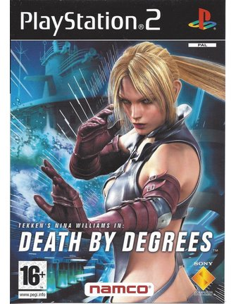 DEATH BY DEGREES für Playstation 2 PS2