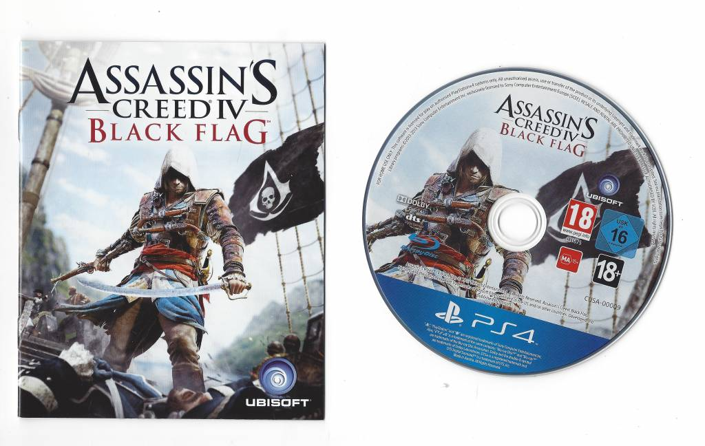Assassin S Creed Iv Black Flag For Playstation 4 Ps4 Worldwide