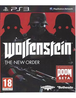 WOLFENSTEIN THE NEW ORDER für Playstation 3 PS3