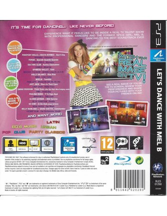 LET'S DANCE WITH MEL B voor Playstation 3 PS3