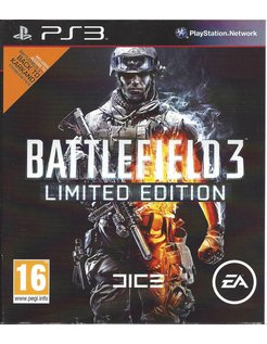 BATTLEFIELD 3 LIMITED EDITION voor Playstation 3 PS3