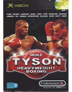 MIKE TYSON HEAVYWEIGHT BOXING voor Xbox