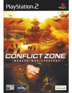 CONFLICT ZONE MODERN WAR STRATEGY voor Playstation 2 PS2