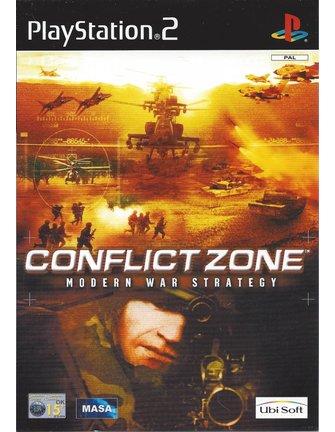 CONFLICT ZONE MODERN WAR STRATEGY für Playstation 2 PS2