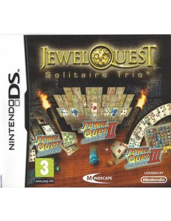 JEWEL QUEST SOLITAIRE TRIO for Nintendo DS