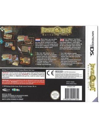 JEWEL QUEST SOLITAIRE TRIO voor Nintendo DS