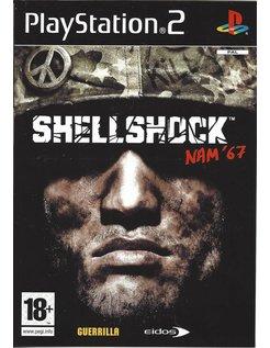 SHELLSHOCK SHELL SHOCK NAM '67 voor Playstation 2 PS2