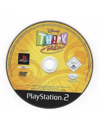 DISNEY THINK FAST für Playstation 2 PS2